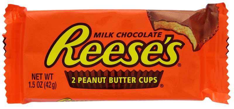 Peanut butter reese cup lick my