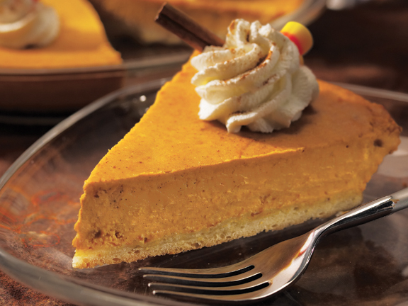 Post image for Grandma Antoinette's Thanksgiving Dessert: Pumpkin-Cream Cheese Pie