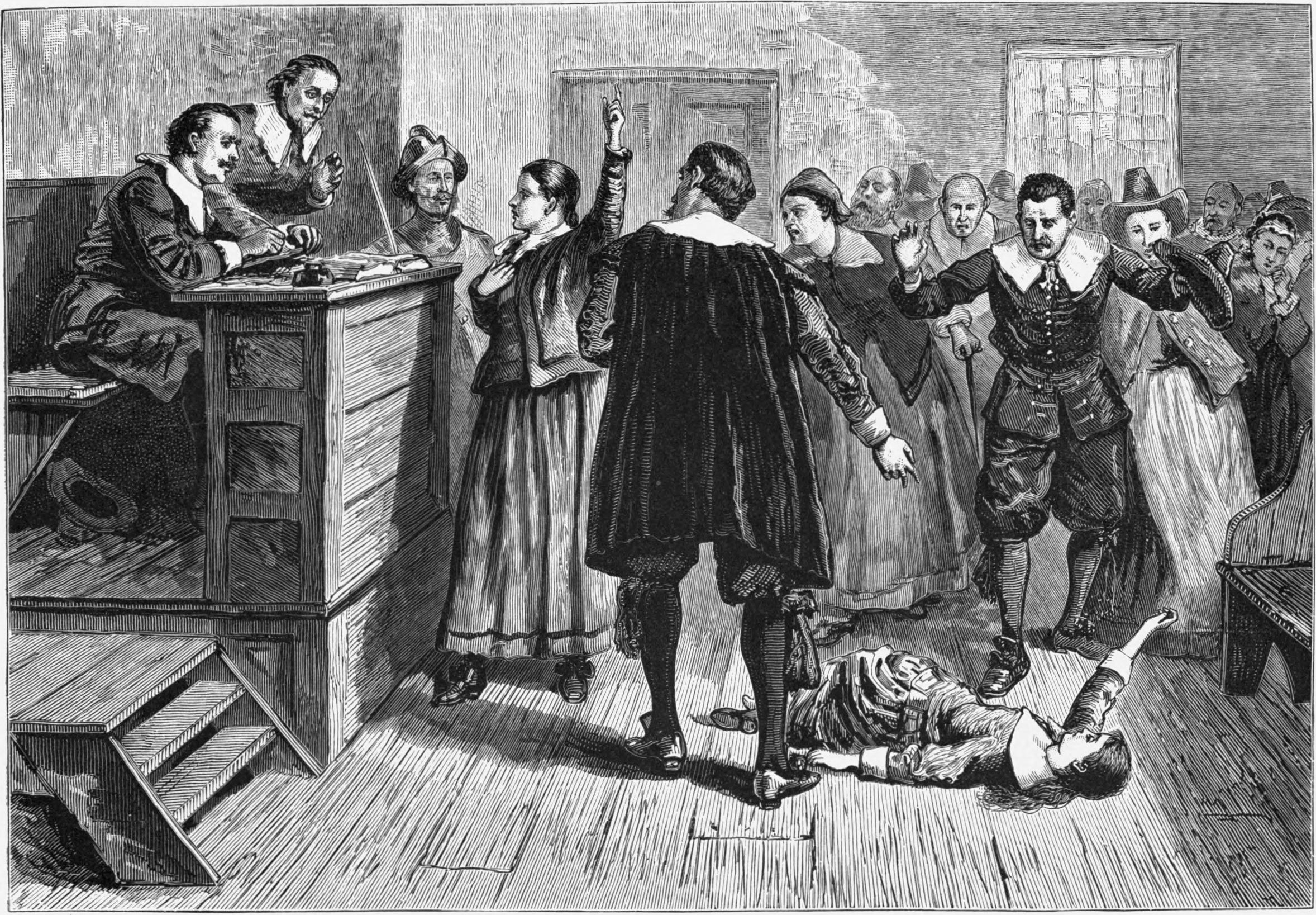 Post image for The Origin of the Salem Witch Trials