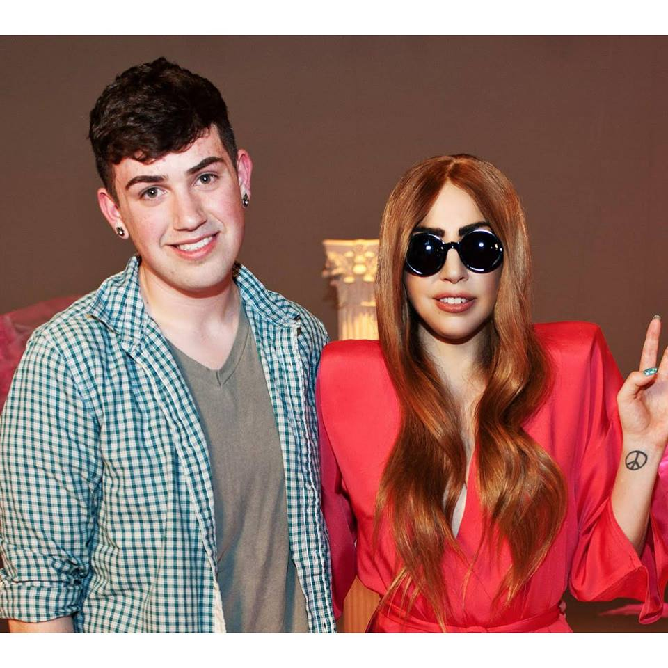 Post image for Anthony Huspen's Ultimate Dream Came True When He Met Lady Gaga