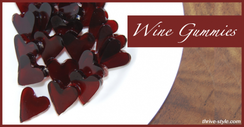 Post image for Valentine's Day Heart Wine Gummies