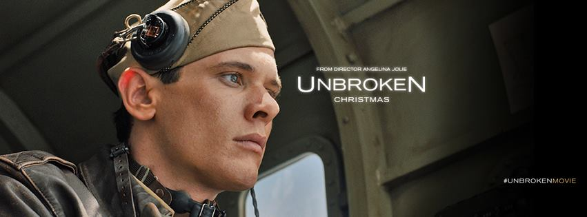 "Post image for Movie Review for the Film ""Unbroken"" — ""A moment of pain is worth a lifetime of glory."""