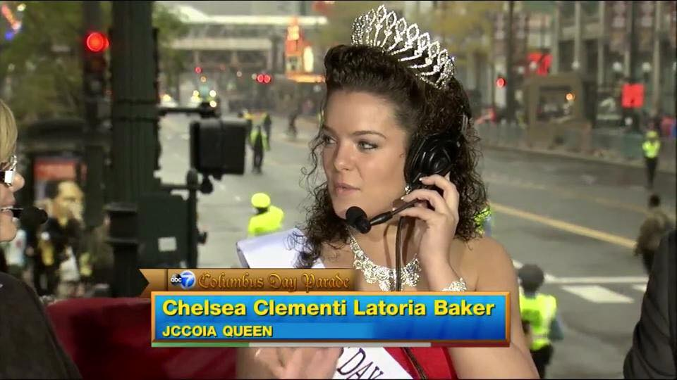 Post image for Chelsea Clementi Latoria Baker, the 2014 Columbus Day Queen, Passes Down Her Crown #ColumbusDay