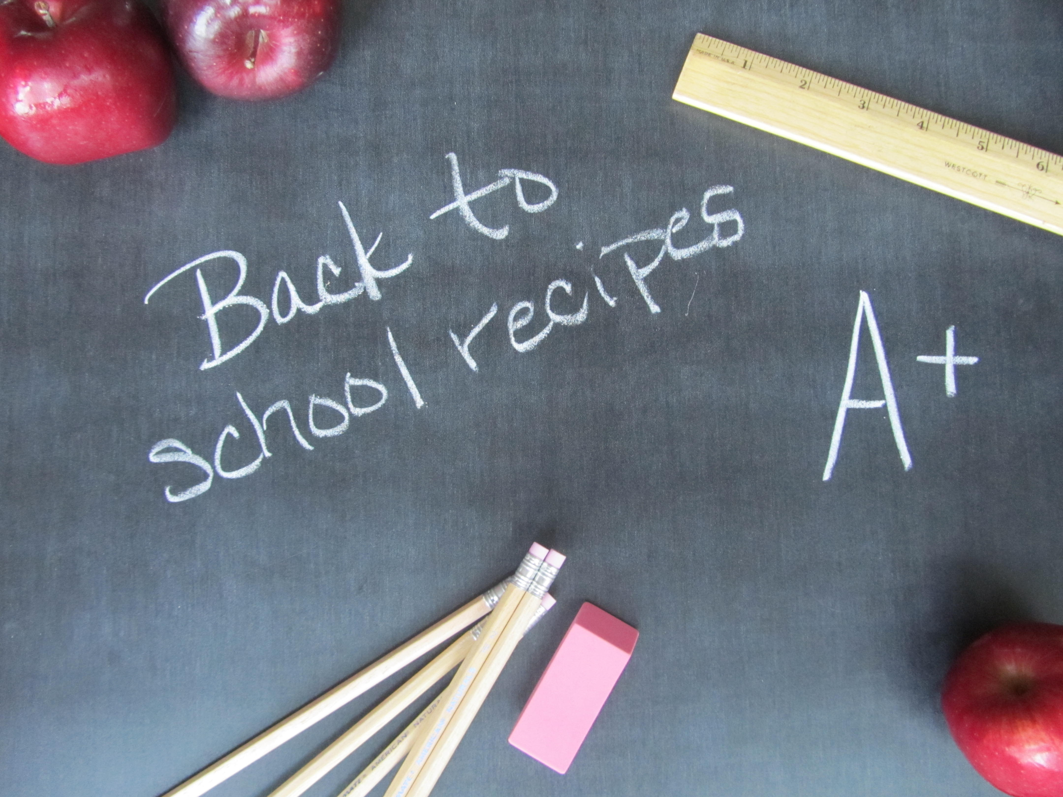 Post image for Fast, Easy and Delicious Back-to-School Recipes